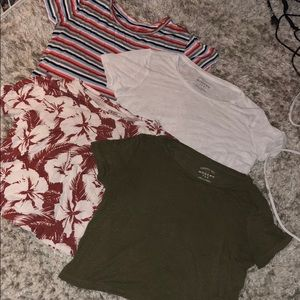 4 Aeropostale top bundle all xs
